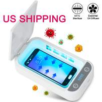 UV Cellphone Sterilizer Multi-Function Cleaner Portable for iPhone Android Devices Makeup Tools Jewelry Watches Toothbrush