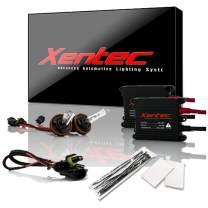 Xentec H11 (H8/H9) 10000K HID xenon bulb x 1 pair bundle with 2 x 35W Digital Slim Ballast (Ocean Blue)