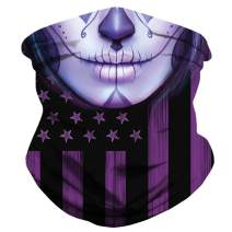 Reusable Face Mask Neck Gaiter Bandana for Dust Headband Magic Scarf Head Wrap