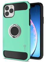 CoverON Protective Magnetic Ring Holder RingCase Series for iPhone 11 Pro Case (2019), Mint Teal