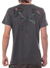 Artistic Psychedelic Mushroom T-Shirt - Quality Regular Fit Cotton Men's Top