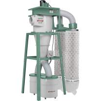 Grizzly Industrial G0638-10 HP 3-Phase Cyclone Dust Collector