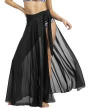Changuan Beach Skirts for Women Swimsuit Cover Up Sarong Swimwear Bikini Wrap Maxi Skirt