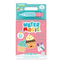 Scentco Water Magic - Paint with Water Activity Kit - Scented Water Reveal Pads (Cupcake)