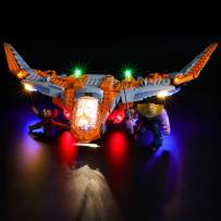BRIKSMAX Led Lighting Kit for Thanos: Ultimate Battle - Compatible with Lego 76107 Building Blocks Model- Not Include The Lego Set