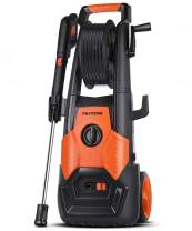 PAXCESS Pressure Washer, 2150 PSI 1.85 GPM Electric Power Washer with Spray Gun, Adjustable Nozzle,26ft High Pressure Hose, Hose Reel