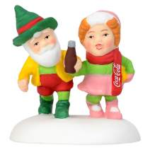 "Department56 North Pole Series Village Accessories Have a Coke and a Smile Figurine, 1.57"", Multicolor"