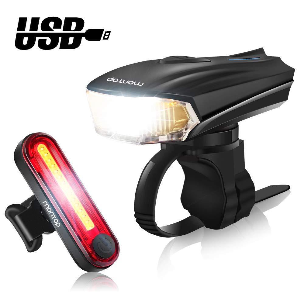 Smart 1//2 Watt Front Superbright LED Waterproof Bike Cycle Light