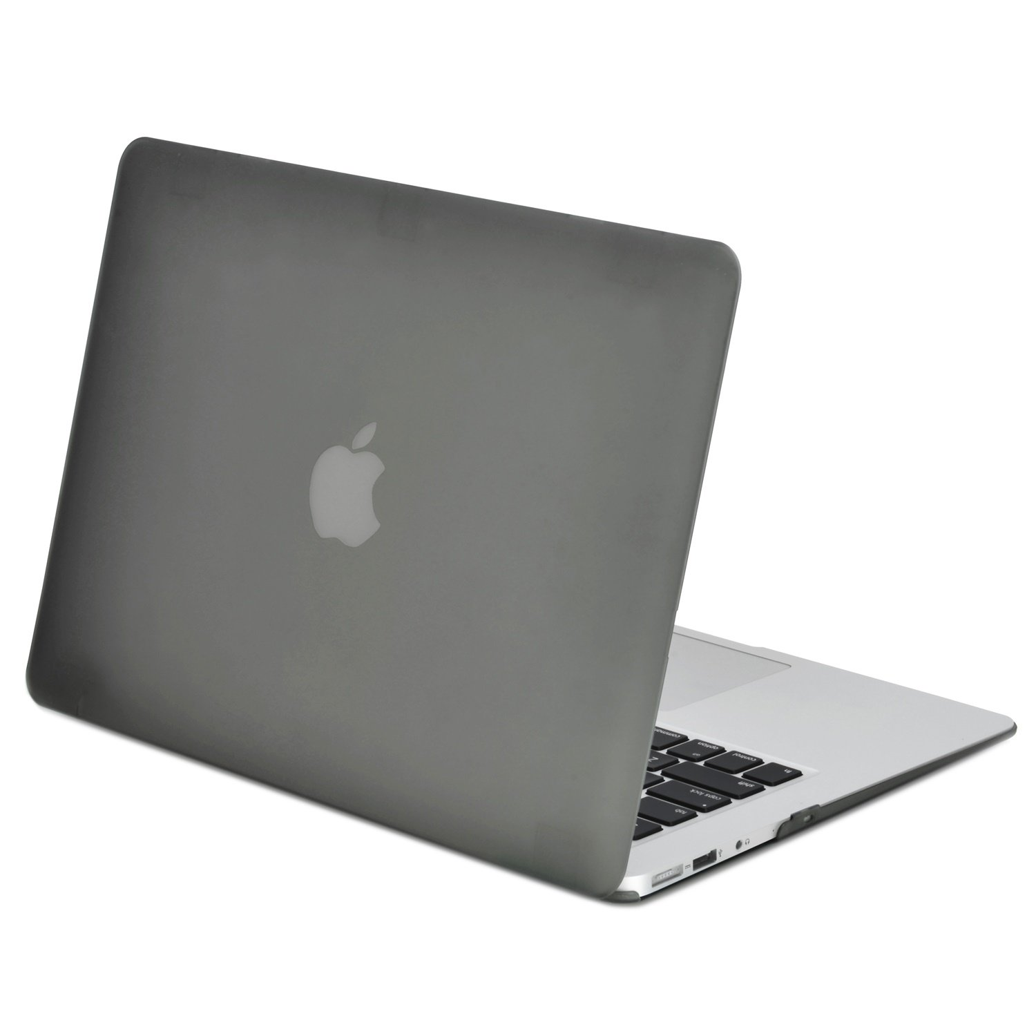 """TOP CASE - Classic Series Rubberized Hard Case Compatible MacBook Air 11"""" (A1370 and A1465) (Grey)"""