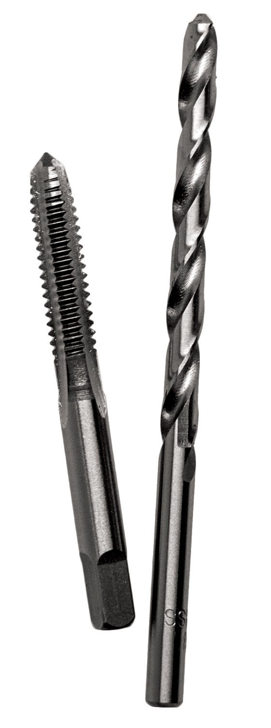 Century Drill & Tool 97410 6.0x1.00 Metric Tap and #9 Drill Combo Pack
