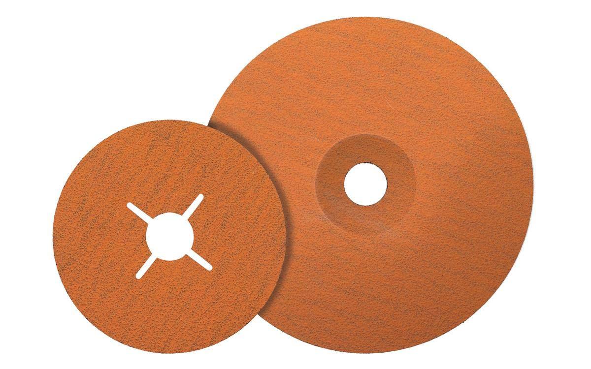 "Walter Coolcut XX Sanding Disc, Ceramic Blend, 4-1/2"" Diameter, Grit 36 (Pack of 25)"