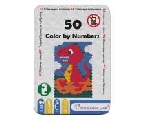 "The Purple Cow Color by Numbers - from The ""50"" Series - Arts & Crafts Activity Learn to Draw and Remember Numbers at The Same time. Game Includes 5 Color Pencils. for Kids Aged 5+ Ideal Gift."