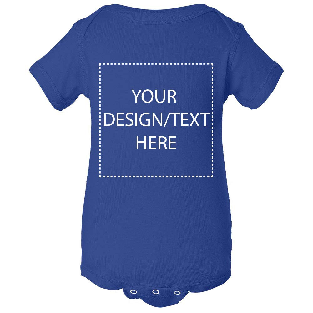 Custom Baby Bodysuit Personalize with Your Text or Image Infant Clothes