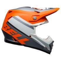 Bell Moto-9 MIPS Off-Road Motorcycle Helmet (Prophecy Orange/Black/Gray, Large)