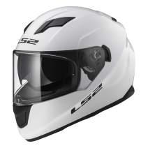 LS2 Helmets Full Face Stream Street Helmet (White - Medium)