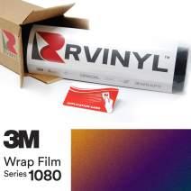 3M 1080 GP278 Gloss FLIP DEEP Space 5ft x 3ft W/Application Card Vinyl Vehicle Car Wrap Film Sheet Roll