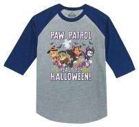 Paw Patrol Pups Ready for Halloween 3/4 Sleeve Baseball Jersey Toddler Shirt