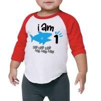 One Birthday Shark Shirt Boys 1st Birthday Shark Outfit