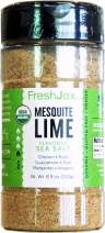 FreshJax Premium Gourmet Spices and Seasonings (Organic Mesquite Lime: Seasoned Sea Salt) 8.9oz