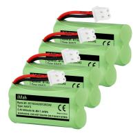 4-Pack iMah Ryme B1 Rechargeable Cordless Phone Battery for BT183342 BT283342 BT166342 BT266342 BT162342 BT262342 2SN-AAA40H-S-X2 2SN-AAA65H-S-X2 VTech CS6114 CS6124 CS6419-2 CS6429 AT&T EL52300 EL52100 DECT 6.0 Home Handset Telephone