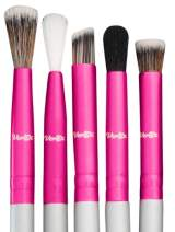 Makeup Eye Shadow Blending Brush Cut Crease Brush Set Pro Shader For Smooth Soft Finishes Tapered Brushes Soft Blender Expert Eyeshadow Shading Effortlessly Blend & Shade Cream Powder Highlighter
