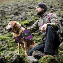 PETKIT HA8OBLL Air Compression Dog Harness, Large