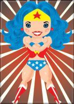 "Ata-Boy DC Comics Wonder Woman 2.5"" x 3.5"" Magnet for Refrigerators and Lockers"