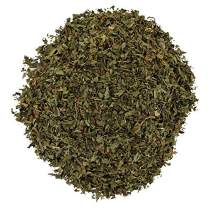 English Tea Store Loose Leaf, Organic Peppermint Herbal Tea Pouches, 2 Ounce