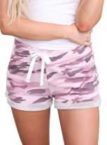 Dearlove Womens Comfy Drawstring Elastic Waist Pocketed Shorts(S-XXL)