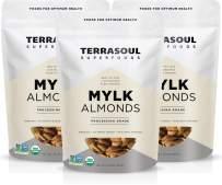 Terrasoul Superfoods Raw Unpasteurized Organic Almonds (Mylk Grade), 6 Pounds