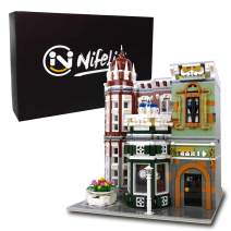 Nifeliz Street Antique Collection Shop MOC Building Blocks and Engineering Toy, Construction Set to Build, Model Set and Assembly Toy for Teens and Adult(3037 Pcs)