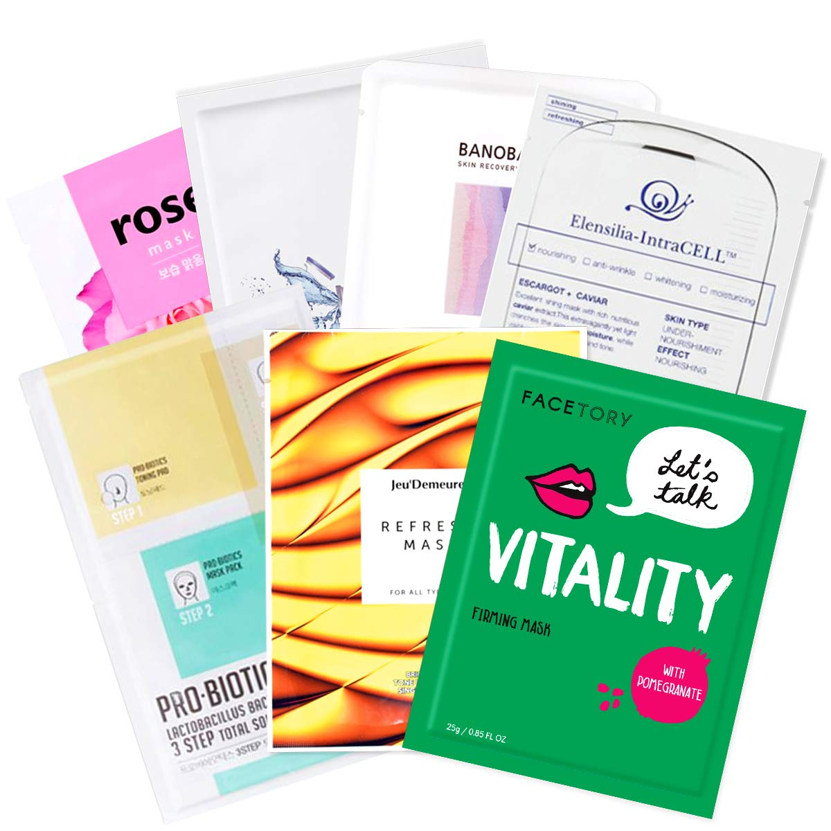 FaceTory All About Balance Box for Combination Skin (7 Masks)