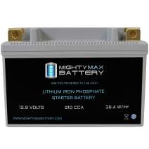 Mighty Max Battery YTR9-BS Lithium Battery Replacement for Kawasaki 750 ZR750 05-06 Brand Product