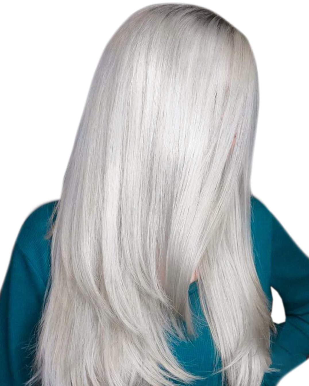 Hetto Tape on Extensions Real Hair #60A White Blonde Natural Huamn Hair 100% Glue in Extensions 40g Double Sided Reusable Hair 14inch 20Pcs Hair Extensions for Thin Hair
