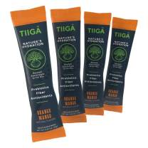 Tiiga Nature's Hydration | Baobab Electrolyte Drink Mix | Real Fruit as First and Main Ingredient | On-The-Go Single Serve Stick Packs | Antioxidant-Rich, Prebiotics, Fiber, Orange Mango, 8 count