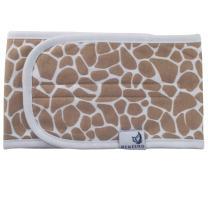 Adjustable Organic Cotton Baby Belly Band, Warmer, Waistband, Newborn to 12 Months, by MEMEENO (Giraffe)