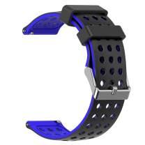 MORETEK Quick Release Watch Band Silicone Sport Wrist Bands Women Men Strap for Smartwatch 18mm 20mm 22mm