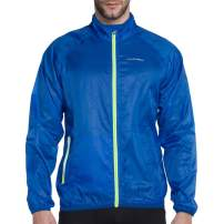 VUTRU Men's Running Jacket Lightweight Wind Jacket Breathable Skin Coat Windbreaker