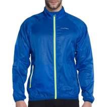 VUTRU Men's Running Jacket Lightweight Wind Jacket Breathable Skin Coat Windbreaker