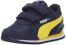 PUMA Kids' St Runner V2 Mesh Sneaker hook and loop fastener