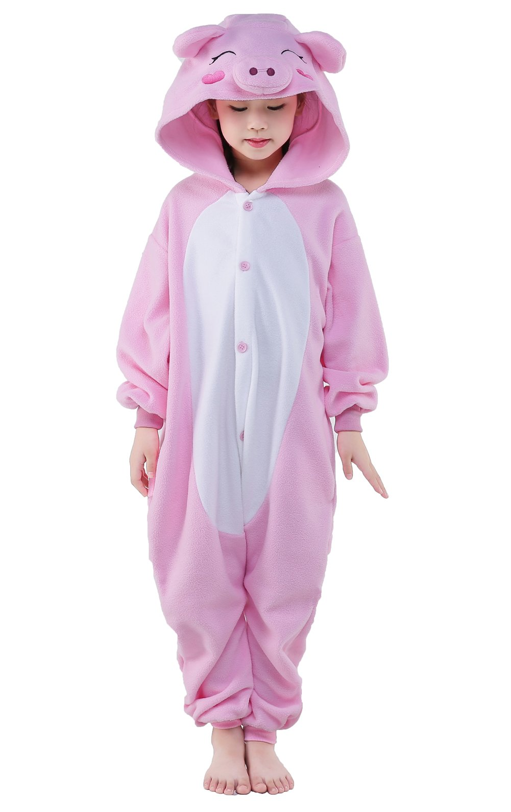 CANASOUR Polyster Halloween Kids Animal Costumes Cosplay Pajamas