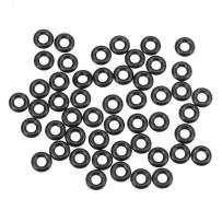 uxcell O-Rings Nitrile Rubber 4.42mm Inner Diameter 9.66mm OD 2.62mm Width Round Seal Gasket 50 Pcs