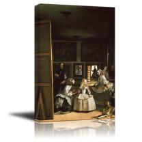 """wall26 - Las Meninas(The Maids of Honour) by Diego Velazquez - Canvas Print Wall Art Famous Oil Painting Reproduction - 24"""" x 36"""""""