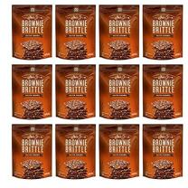 Sheila G's Brownie Brittle, Salted Caramel, 5 Ounce Bag (Pack of 12)