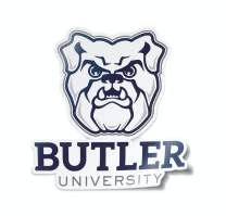 Butler University Bulldogs Car Decal Made from Premium Weatherproof Vinyl