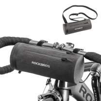 ROCKBROS Bike Handlebar Bag Bicycle Front Frame Storage Bag Commuter Shoulder Bag Water Resistant Large-Capacity Front Pack for Road Bike, MTB Mountain Bike