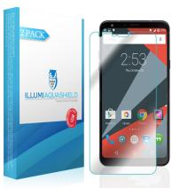 ILLUMI AquaShield Screen Protector Compatible with LG Stylo 4 (LG Q Stylus)(2-Pack) No-Bubble High Definition Clear Flexible TPU Film