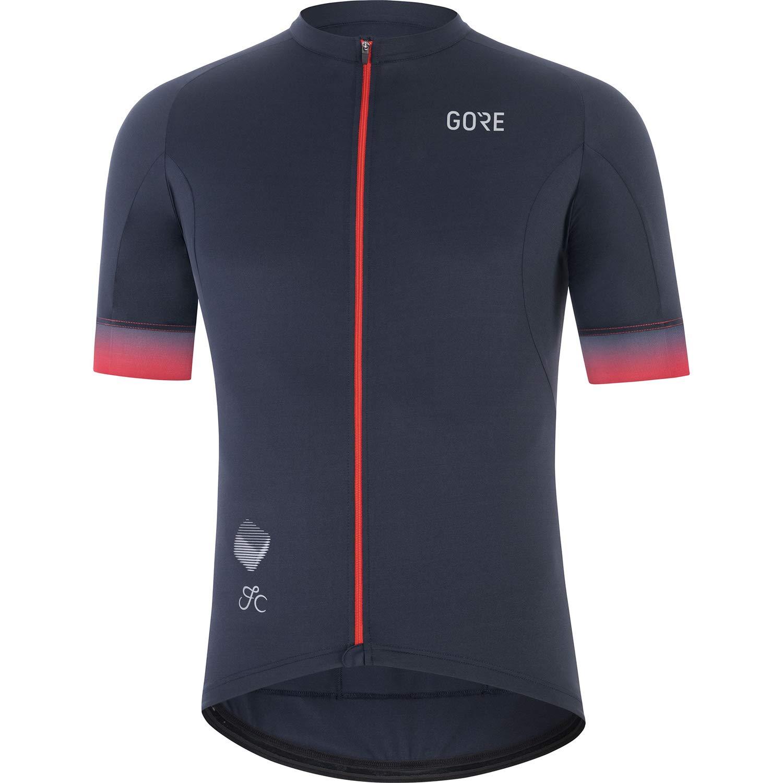 GORE WEAR Cancellara Jersey - Men's Orbit Blue/Red