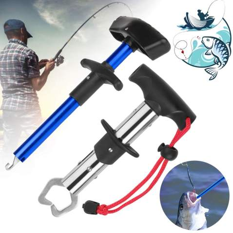 FISH HOOK REMOVER Squeeze-Out Fish Hook Tool with Lanyard