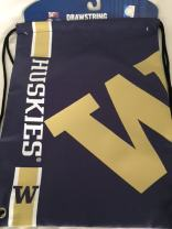 FOCO NCAA Big Logo Drawstring Backpack